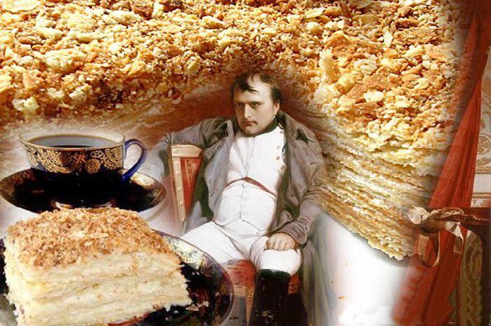 Торт Наполеон - история. Торты на заказ с доставкой в Саратове