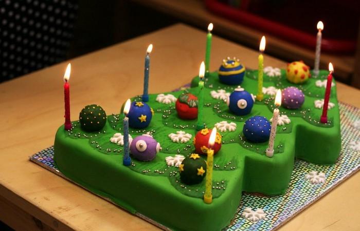 Новогодний торт Ёлочка. Заказать торт с доставкой в Саратове