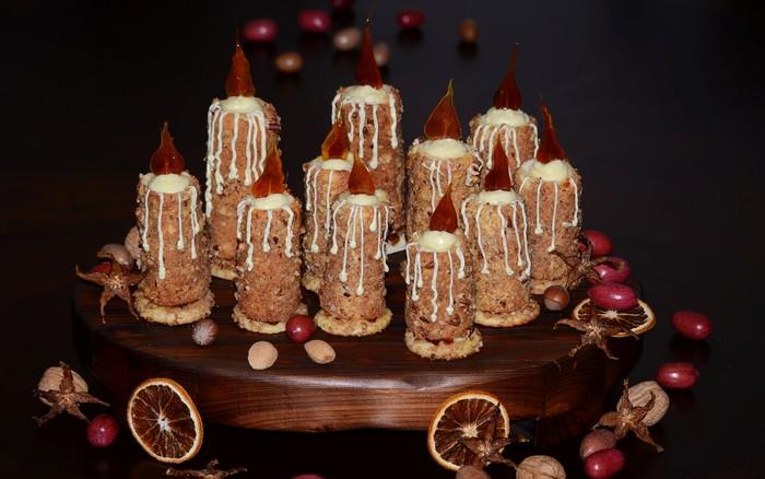 Заказать торт на Новый год в Саратове. Заказ и доставка тортов кондитерская Наслаждение