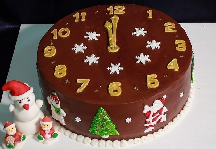 Заказать торт для Нового года в Саратове. Доставка тортов