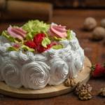Торт Клубничный йогурт