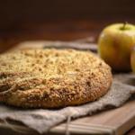 Пирог со свежим яблоком