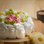 Торт Сливочный йогурт с ананасом