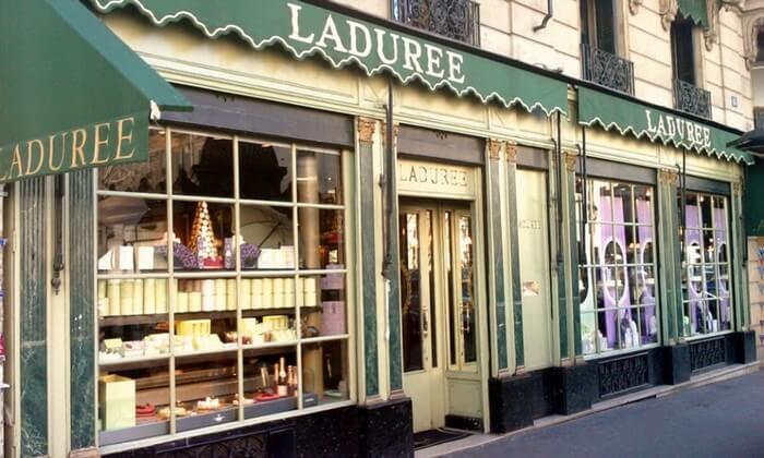 Кондитерские магазины сети Laduree