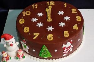 Новогодний торт – символ будущих надежд