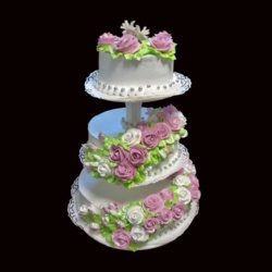 Заказать свадебный торт в Саратове. Доставка