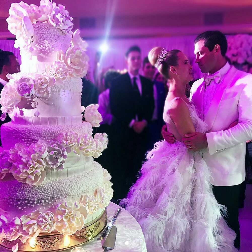 Свадебные торты знаменитостей